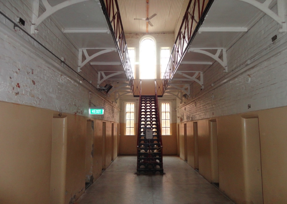Castlemaine Gaol, Vic (Photo. W. Barlow)