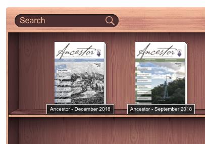 'Ancestors' in your digital bookshelf.