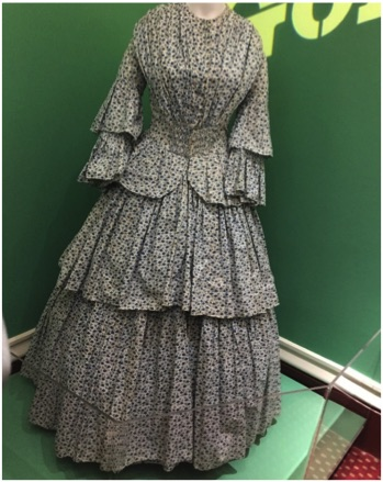 Goldfields dress (photo: G. Nicholas 2020)
