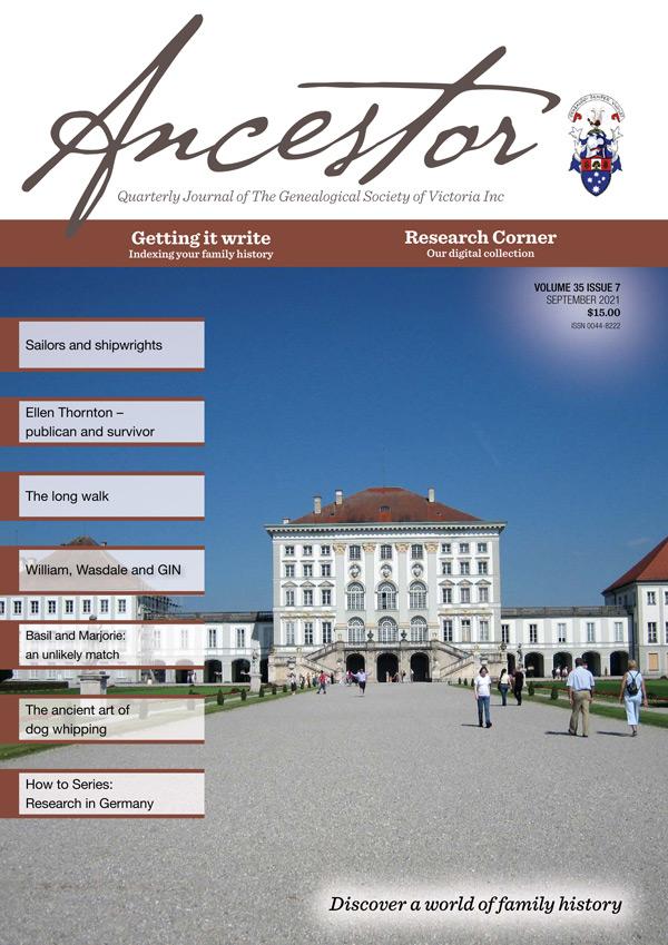 Ancestor September 2021 cover