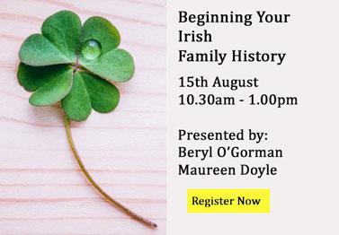 Beginning Irish Family History