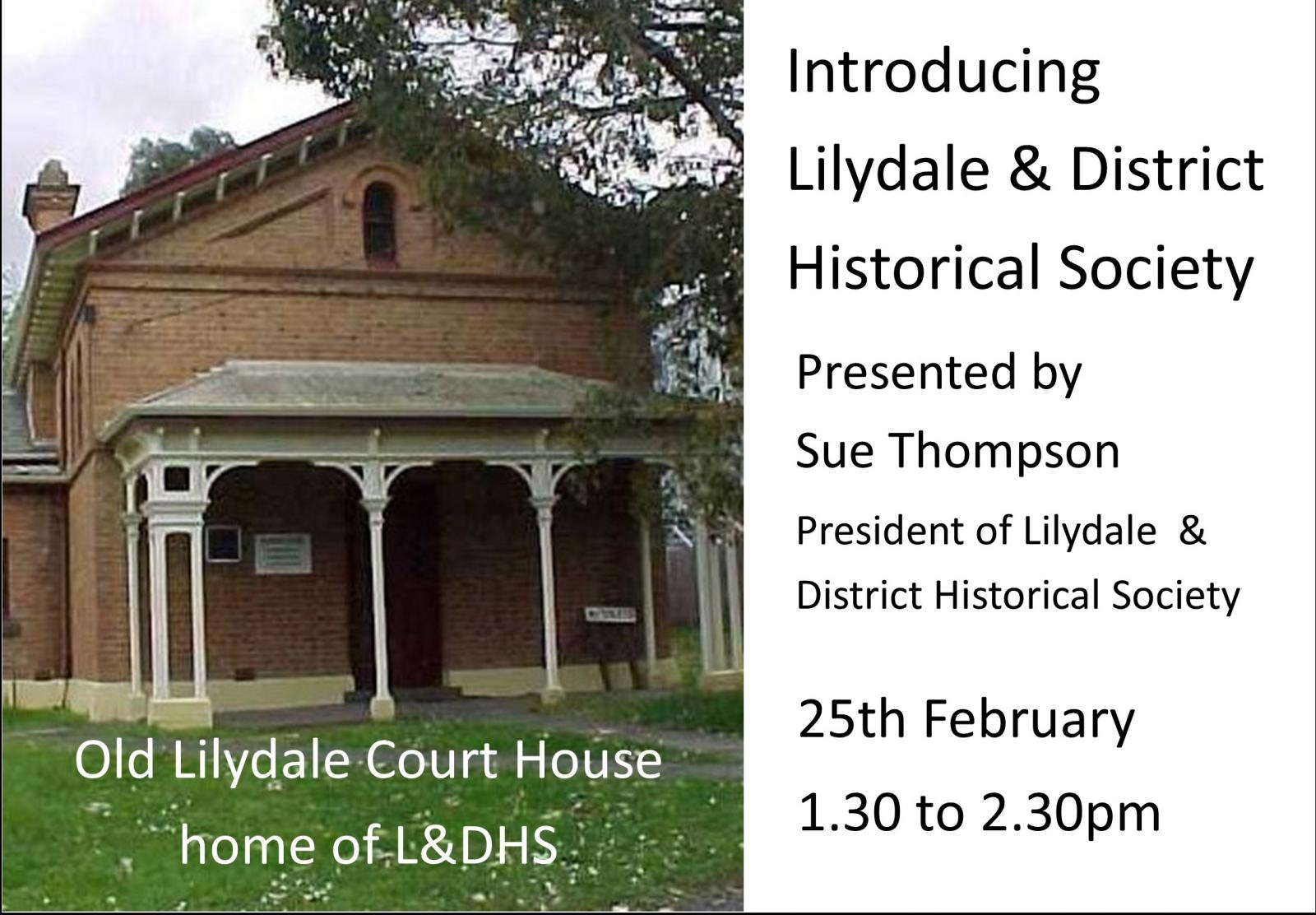 Introducing Lilydale & DHS