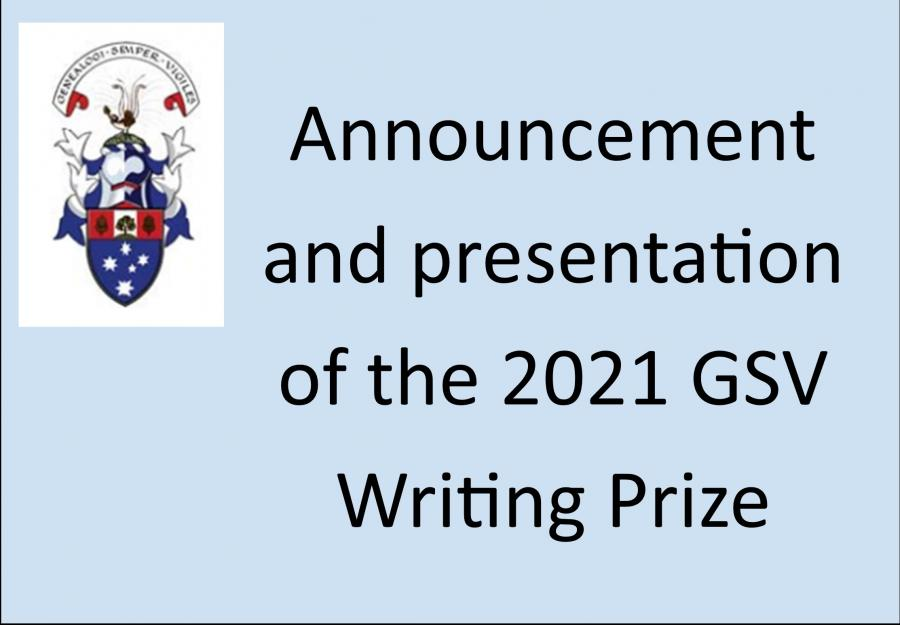 Writing Prize 2021
