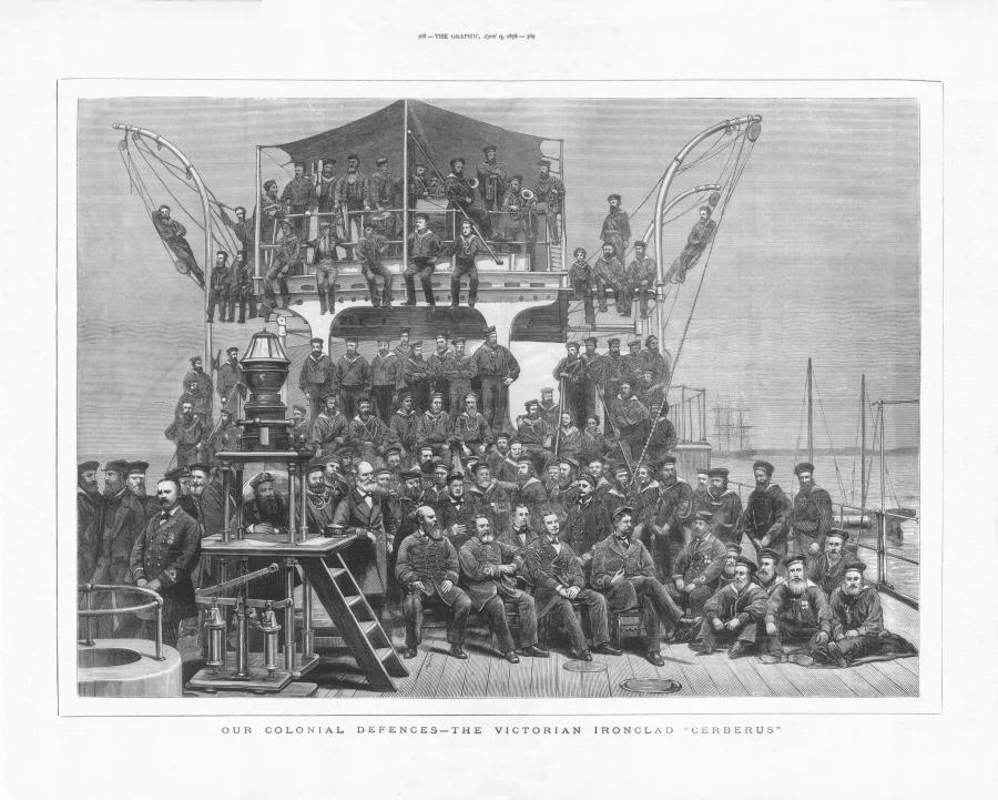 Cerberus crew 1878