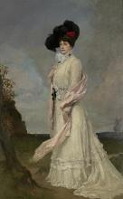 'Madame Melba', Rupert Bunny c.1902 (NGV A70-1980)