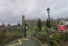 St James, Haslingden, Lancs UK. Courtesy Google Street View 2009.