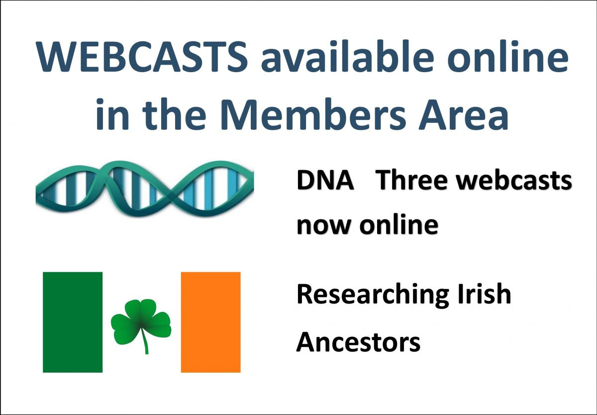 Webcasts DNA Irish
